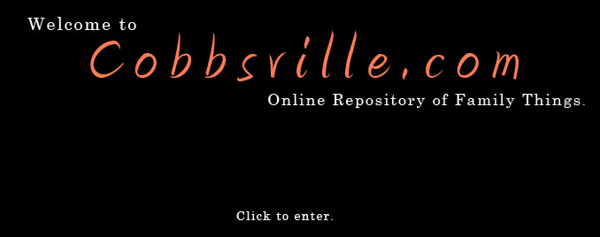 Welcome to Cobbsville.com